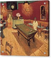 Van Gogh Night Cafe 1888 Acrylic Print