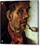 Van Gogh: Peasant, 1884 Acrylic Print