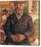 Van Gogh: Pere Tanguy, 1887 Acrylic Print