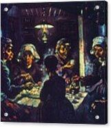 Van Gogh Potato Eaters Acrylic Print