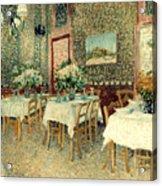 Van Gogh: Restaurant, 1887 Acrylic Print