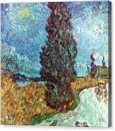 Van Gogh: Road, 1890 Acrylic Print