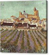 Van Gogh: Saintes-maries Acrylic Print