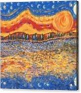 Van Gogh Skies Acrylic Print