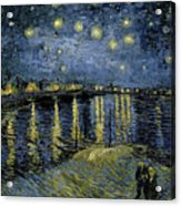 Van Gogh, Starry Night Acrylic Print