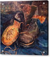 Van Gogh: The Shoes, 1887 Acrylic Print