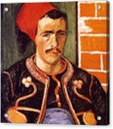 Van Gogh: The Zouave, 1888 Acrylic Print