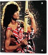 Van Halen Acrylic Print