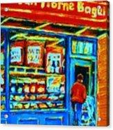 Van Horne Bagel Acrylic Print