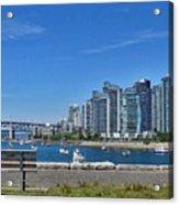 Vancouver Bench Acrylic Print
