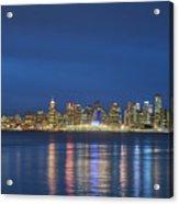 Vancouver Cityscape Acrylic Print