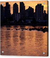 Vancouver From Stanley Park I Acrylic Print