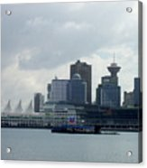 Vancouver Harbour Acrylic Print