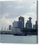 Vancouver Harbour Acrylic Print