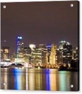Vancouver Lights Acrylic Print