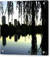 Vancouver- Lost Lagoon Acrylic Print by Will Borden