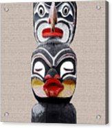 Vancouver Totem - 1 Acrylic Print