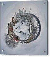 Vancouver Winter Planet Acrylic Print
