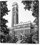 Vanderbilt University Kirkland Hall Acrylic Print by University Icons