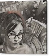 Vanessa Acrylic Print