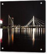 Vansu Bridge Riga Acrylic Print