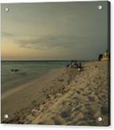Varadero Ocean  Acrylic Print