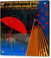 Varanasi Truelly Infinitive Acrylic Print