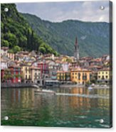 Varenna Italy Old Town Waterfront Acrylic Print
