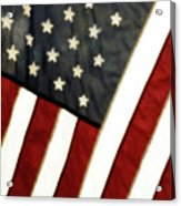 Variations On Old Glory No.4 Acrylic Print by John Pagliuca