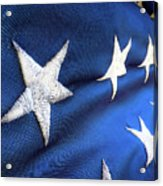Variations On Old Glory No.5 Acrylic Print