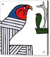 various demons of ancient Egypt Acrylic Print