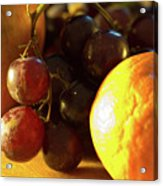 Various Fruit Acrylic Print by Brian Roscorla