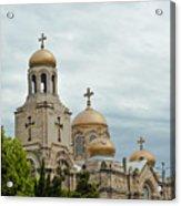 Varna Cathedral,bulgaria Acrylic Print