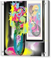 Vase And Painting Acrylic Print