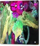 Vase Dancing In The Night Acrylic Print