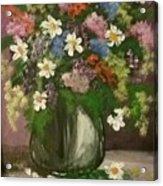 Vase Of Flowers #1 Acrylic Print