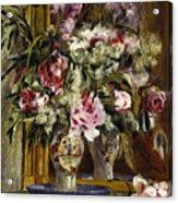 Vase Of Flowers, 1871  Acrylic Print