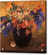 Vase Of Flowers 1896 Acrylic Print
