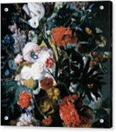 Vase Of Flowers Acrylic Print