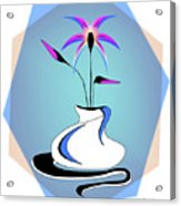 Vase Two-color Acrylic Print