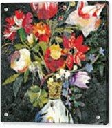 Vase With A Bird Acrylic Print
