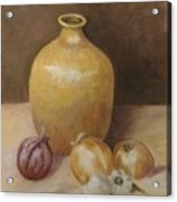 Vase With Onion Acrylic Print