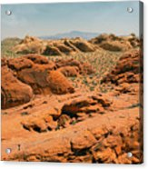 Vast Desert Valley Of Fire Acrylic Print