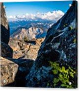 Vastly Majestic High Sierras Acrylic Print