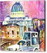 Vatican Authentic Acrylic Print