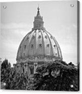 Vatican City Dome Acrylic Print