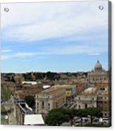 Vatican General View Acrylic Print