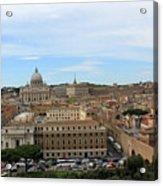 Vatican In Spring Acrylic Print