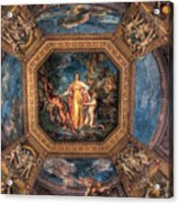 Vatican Museum Ceiling Acrylic Print