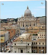 Vatican Rome Acrylic Print